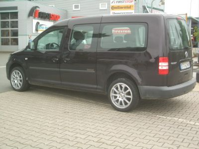 reifen deubzer volkswagen vw caddy mit ronal r38 in 17zoll. Black Bedroom Furniture Sets. Home Design Ideas