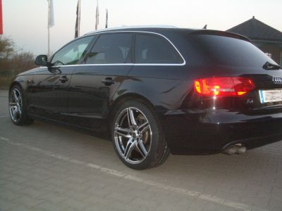 Reifen Deubzer Audi Audi A4 Mit Borbet Xrt Reflectic In